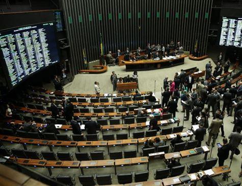 Plenário da Câmara dos Deputados Foto: José Cruz/Agência Brasil